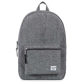 Herschel Supply Co  Settlement Backpack  Raven Crosshatch