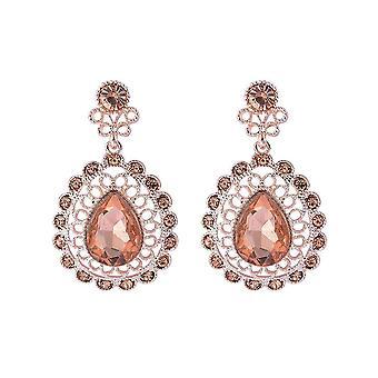 Intrige Womens/Damen Sparkly Antique Look Ohrringe