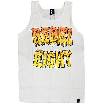 Rebel8 Goo Tank Top White