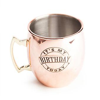 Its My Birthday Moscow Mule Copper Mug