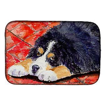 Carolines trea Sures SS8842DDM Bernese Mountain dog Dish tork matta