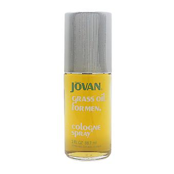 Gras olie voor mannen door Jovan Cologne 3oz/88.7 ml Spray nieuw in doos