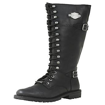 Ladies Harley Davidson Long Boots Beechwood
