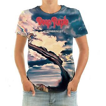 Born2rock - stormbringer deep purple - mens t-shirt