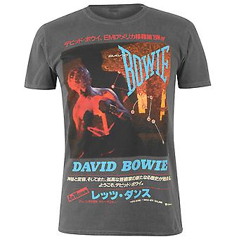 Officiële mens band T shirt T-shirt tee Top David Bowie