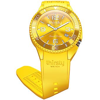 Thirsty lemon unisex Watch for Unisex Analog Japanese Quartz with Silicone Bracelet BO-LEMON