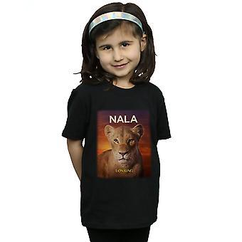Disney Girls The Lion King Movie Nala Poster T-Shirt