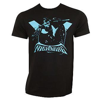 Silhouette de Nightwing Tee Shirt
