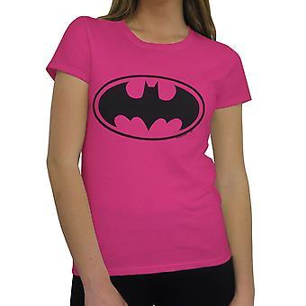 Batman Symbol Femmes apos;s T-Shirt rose