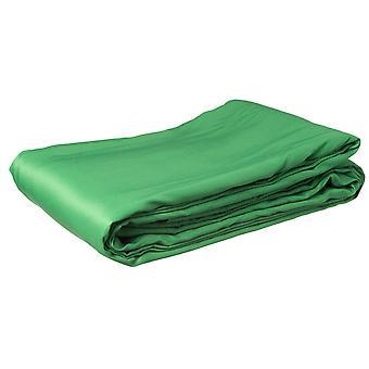 BRESSER BR-8P Poliestere tessuto di sfondo 3x6m chromakey verde