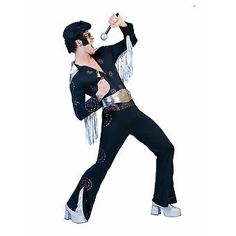 Elvis Overall Costume Hommes King of Rock n Roll Costumes Hommes