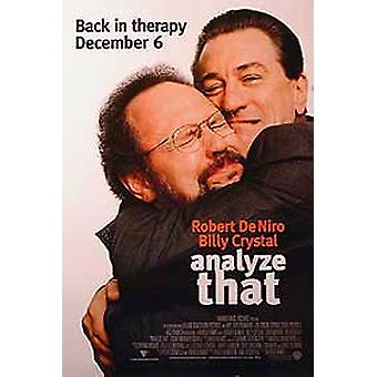 Analyse That (Double Sided) Original Cinema Poster