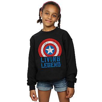 Marvel Girls Captain America Living Legend paita