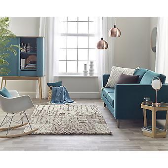 Andante 6633D Licht braun weiß Rechteck Teppiche traditionelle Teppiche