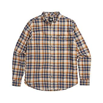 Animal Dalts Long Sleeve Shirt in Indigo Blue