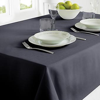 Country Club Table Cloth 130 x 228 Black