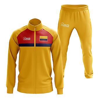 Kolumbia koncept futbalové tepláky (žltá)