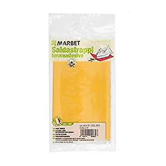 Marbet MB120.003 | Cotton Mending Fabric | Iron-On | 40 x 15cm | Yellow