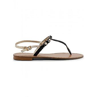 Versace Jeans - Schuhe - Flip Flops - VRBS51_899_NERO - Damen - black,gold - 37