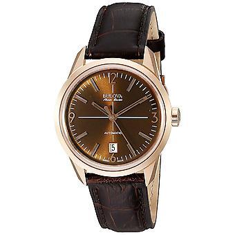 Bulova Men's Accu Brown Dial Watch - 64B124