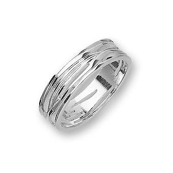 Sterling Argent traditionnel écossais Twiggy Unique Design Ring