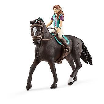 Schleich Lisa & Storm Horse Club Figurine (42516)