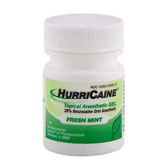 Hurricaine topical anesthetic gel, fresh mint, 1 oz
