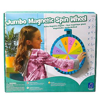 Learning Resources - Jumbo Magnetic Spin Wheel