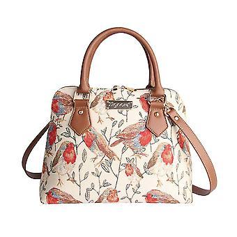 Robin top-handle shoulder bag by signare tapestry / conv-rob