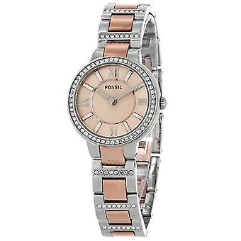 Watch Fossil ES3405 - Strass two-tone fashion woman