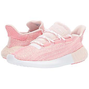 Kinderen Adidas meisjes buisvormige schemering stof lage top Lace up running sneaker