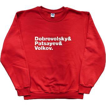 Soyuz 11 Line-Up Red Sweatshirt