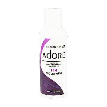 Creative Image Adore Shining Semi-Permanent Hair Color 114 Violet Gem 118ml