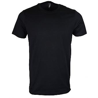 Versace Bu90649 Stitched Black T-shirt