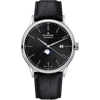 Edox 80500 3 NIN Les Vauberts Heren Horloge