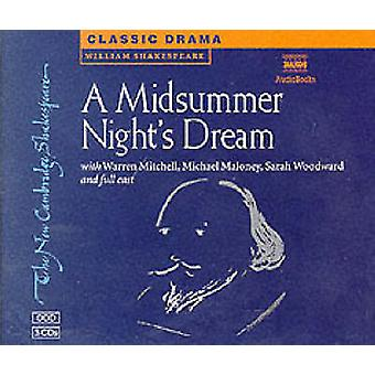 A Midsummer Nights Dream 3 Audio CD Set by Shakespeare & WilliamNaxos AudioBooks