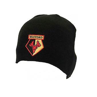 Watford FC Unisex Knitted Beanie Hat