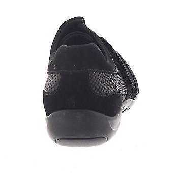 Walking Cradles Audio Women's Slip On 6 C/D US Black-Patent-Lizard