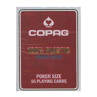 Copag Poker Deck Jumbo Red (Tuckbox)