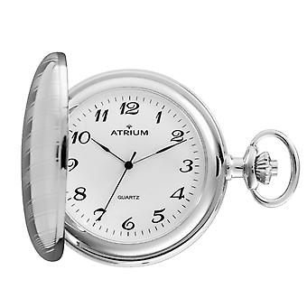 ATRIUM watch pocket watch silver/white stainless steel A19-80