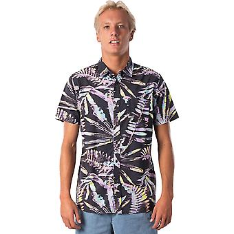 Rip Curl Glitch Kurzarm Shirt in schwarz
