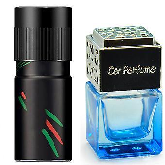 Lynx Africa For Him Inspired Fragrance 8ml Blue Bottle Chrome Lid Car Air Freshener Vent Clip