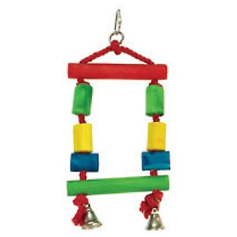 Arquivet Swing Colors 13 X 25 Cm (Birds , Bird Cage Accessories , Toys , Swings)