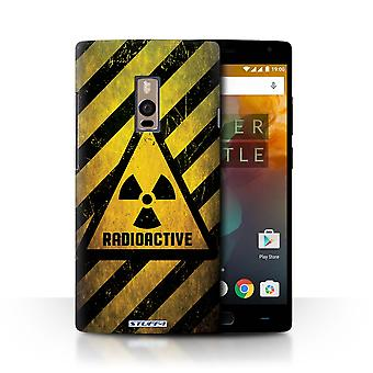 STUFF4 Case/Cover for OnePlus 2/Two/Radiation/Hazard Warning Signs