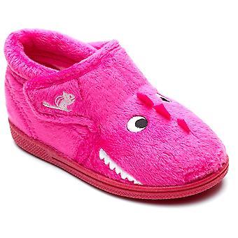 Chipmunks Girls Daniella Slippers Pink