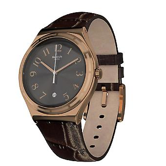 Swatch HARMONIEUSE Leather Mens Watch YWG406