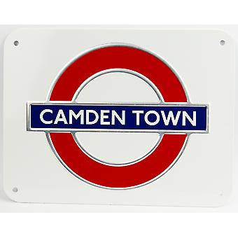 Tfl™3109 licensed camden town underground™ metal sign large