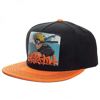 Naruto Printed Screenshot with Embroidery Snapback Hat