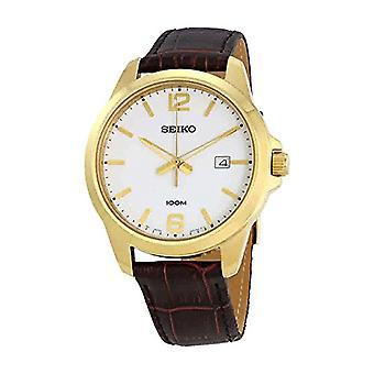 Seiko montre montre Analogueico-Digital Quartz homme en cuir SUR252P1