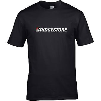Bridgestone Tyres - Car Motor - DTG Printed T-Shirt